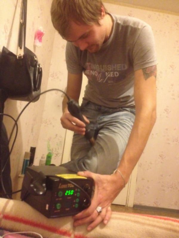 Используем паяльную станцию в быту Паяльная станция, Lukey, Пиво, Шутка