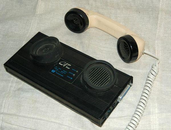 Вот такой модем Модем, Телефон, Интернет, История IT