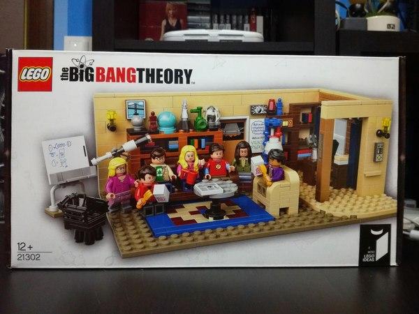 The big bang theory lego, ideas, теория большого взрыва, коллекция, конструктор, набор 21302, длиннопост