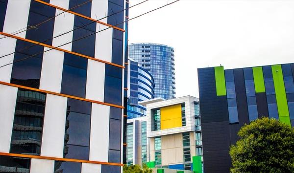 Архитектура Мельбурна Австралия, Мельбурн, Современная архитектура, Длиннопост, Красота