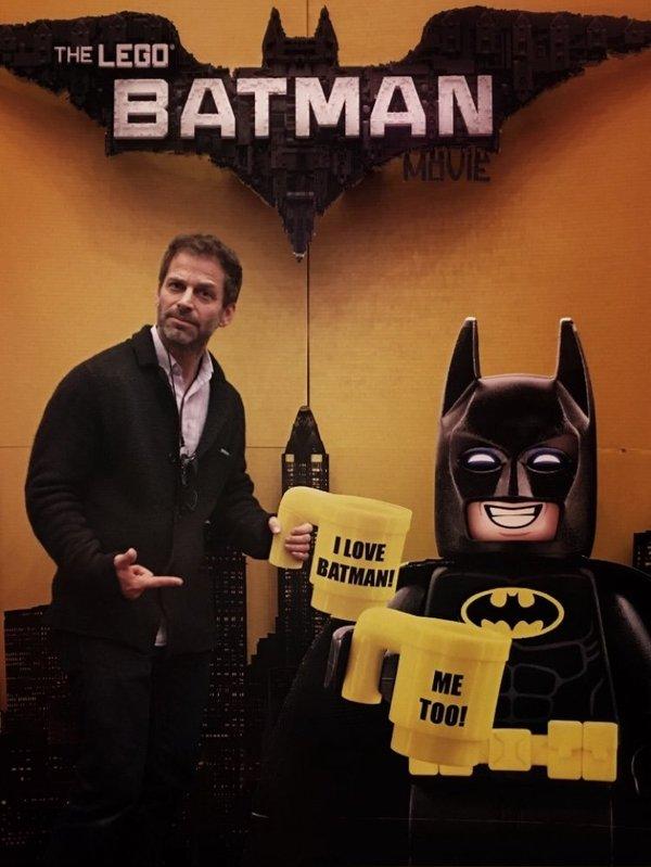 Зак любит Бэтмена