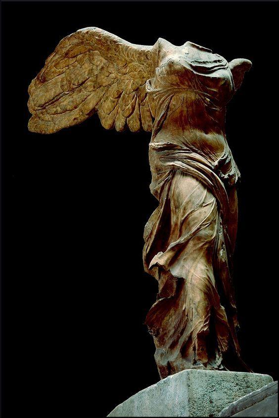 Когда часть прекрасней целого Мрамор, Скульптура, Ника, Лувр, Длиннопост