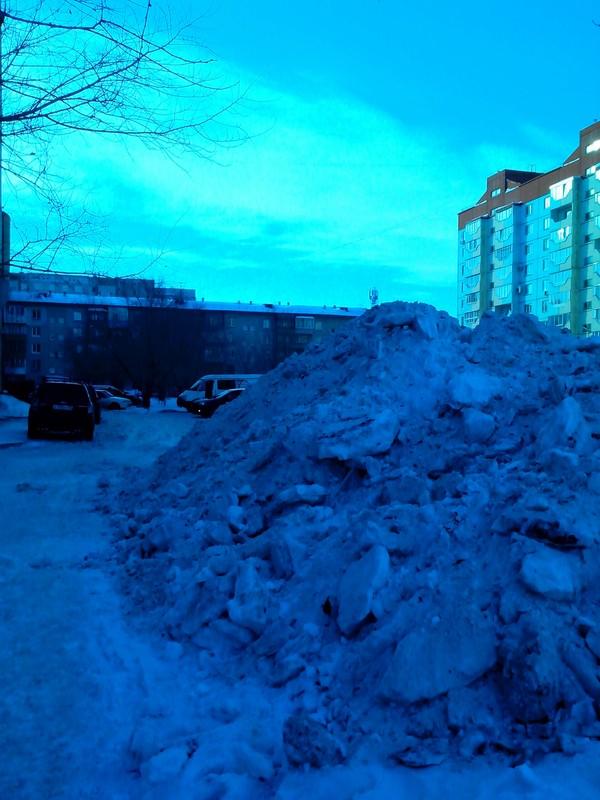 В Омске открыли горнолыжный сезон Горы, Омск, Грязь, Длиннопост