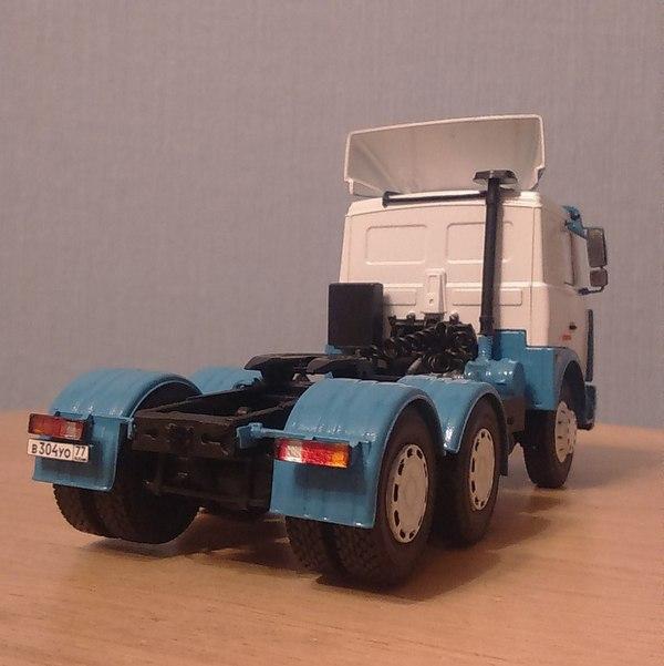 Седельный тягач МАЗ-6422 Авто, Автомоделизм, Маз, Тягач, Игрушки для взрослых, Автомодели02, Длиннопост