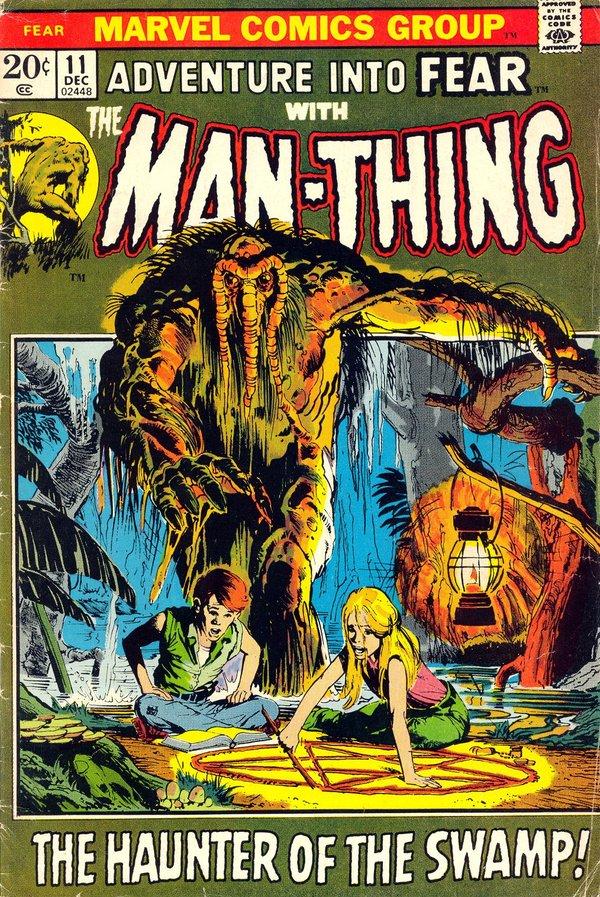 Знакомство с комиксами: Adventure into Fear #11 Супергерои, Антигерои, Marvel, Леший, Паук, Крипота, Комиксы-Канон, Длиннопост
