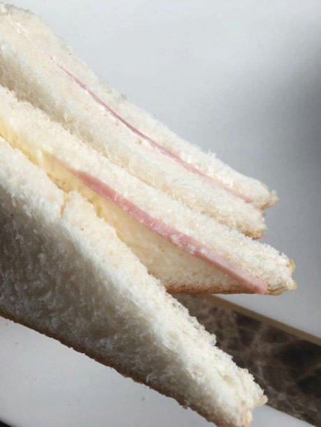 Сендвич с...