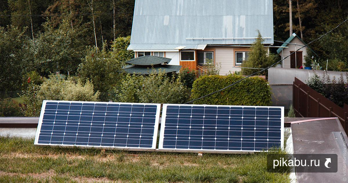 Сколько солнечной энергии вырабатывается с двух 100-ваттных солнечных панелей