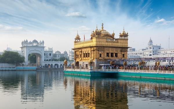 Золотой Храм — Хармандир-Сахиб Золотой Храм, Индия, длиннопост