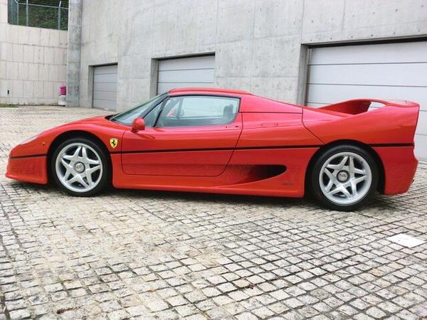 Ferrari F50 '1996 Ferrari, F50, авто, машина, длиннопост