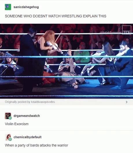 Рестлинг PvP WWE, Гифка, MMO