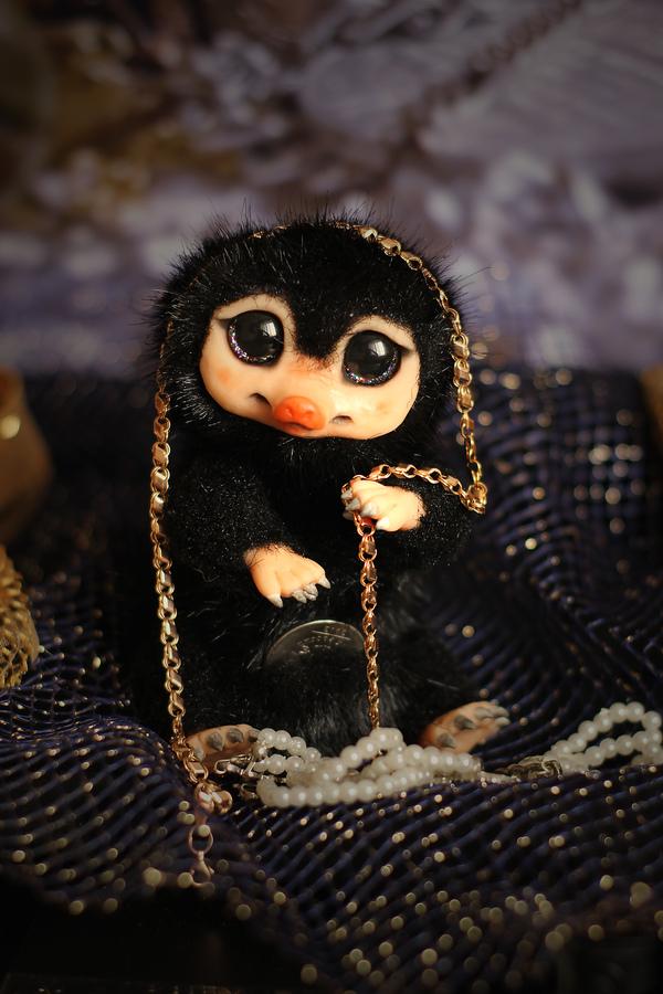 Маленькие воришки! нюхлер, фантастические твари, handmade, рукоделие, длиннопост