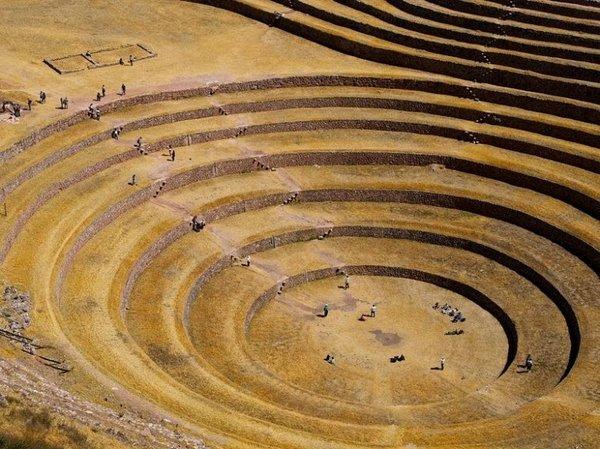Террасы Морай Морай, Террасы, Перу, Сложно, длиннопост