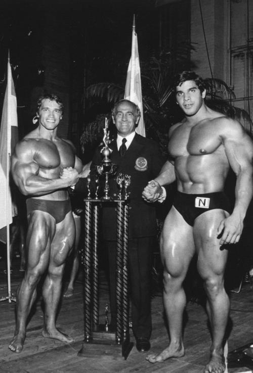 Арнольд Шварценеггер и Лу Ферриньо, 1970 год