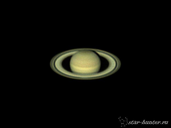 Сатурн, 1 марта 2017 года, 5:55. Сатурн, планета, астрофото, астрономия, космос, StarHunter, АнапаДвор