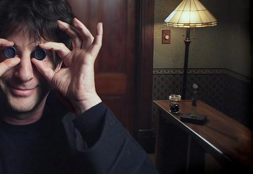 Писатель Нил Гейман заключил контракт на экранизации своих книг Нил Гейман, Американские боги, Новости, Видео