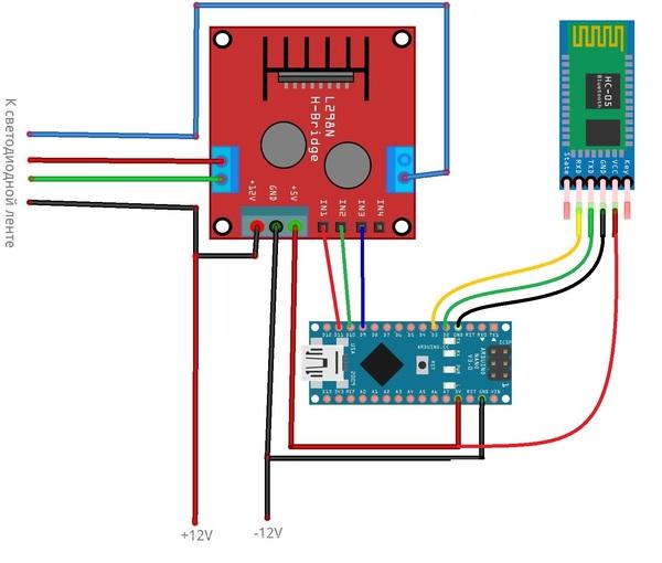Еще одно RGB приложение Сделай сам, RGB, Arduino, Светодиодная лента, Своими руками, Android, Видео, Длиннопост