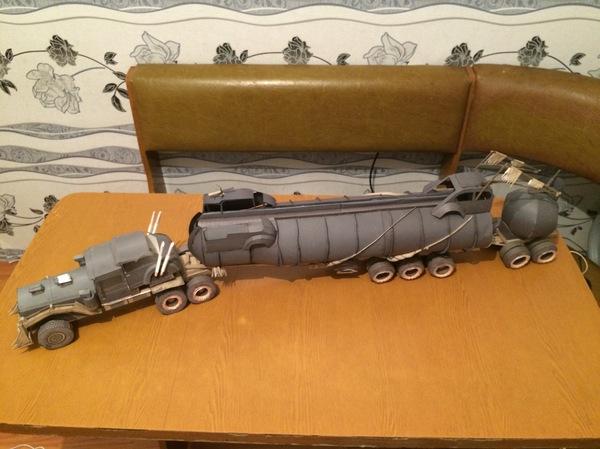 War Rig Mad Max Fury Road 1:25, Papercraft, War rig, Безумный макс, Truck, Fuek, Длиннопост