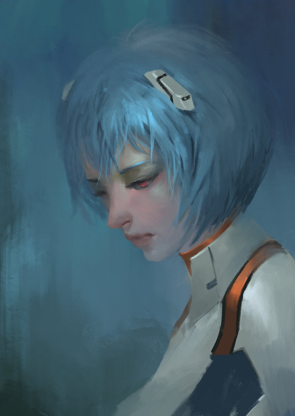 Ayanami Rei арт, Evangelion, Rei Ayanami, аниме
