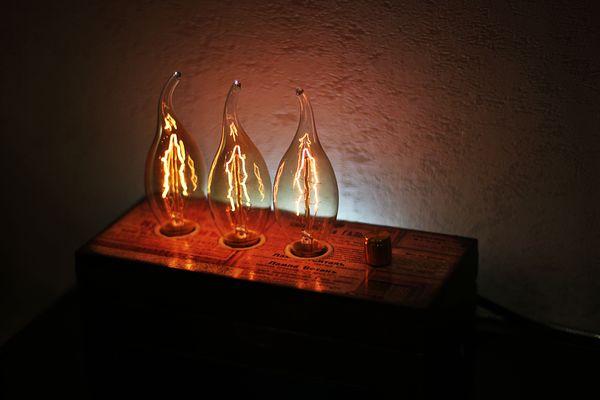 Светильник-2 Декупаж, диммер, светильник, моё, длиннопост