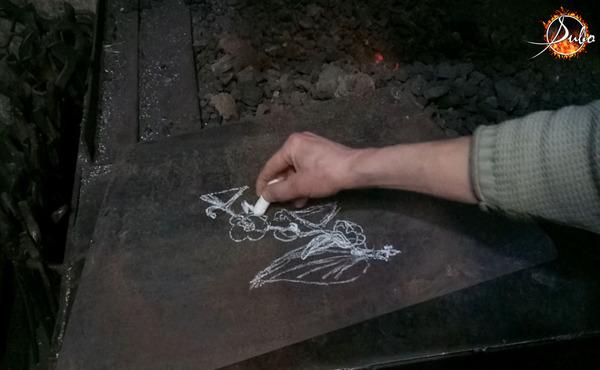 """Ковка подсвечника """"Мальва"""" ковка, художественная ковка, подсвечник, свеча, своими руками, сувенир, дизайн, уют, видео, длиннопост"""