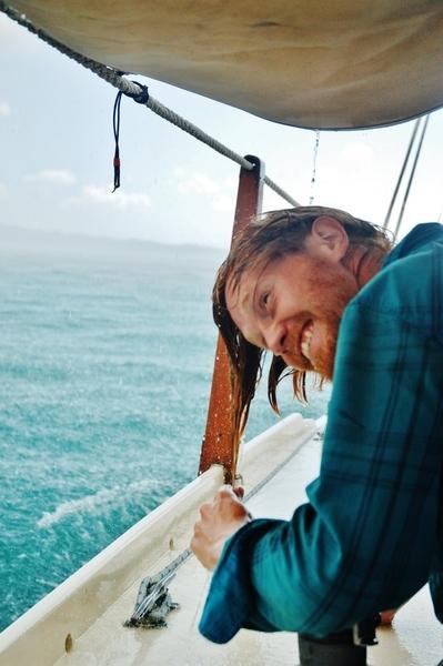 Секс на лодке посреди моря 3