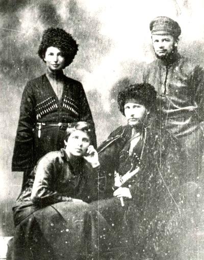 Единственная известная в истории женщина – командир бронепоезда Гражданская война, Девушки и армия, Длиннопост