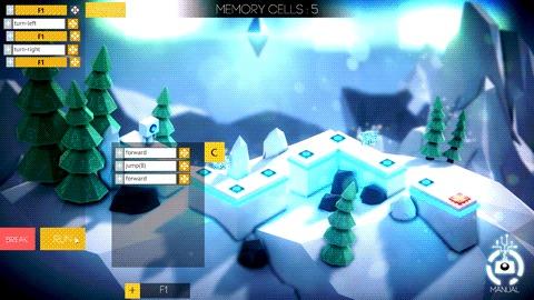 Алготика - игра про программирование и её low-poly красоты Инди игра, Скриншот, Гифка, Длиннопост