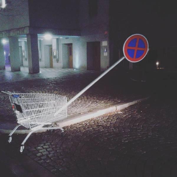 Горизонт завален в Праге