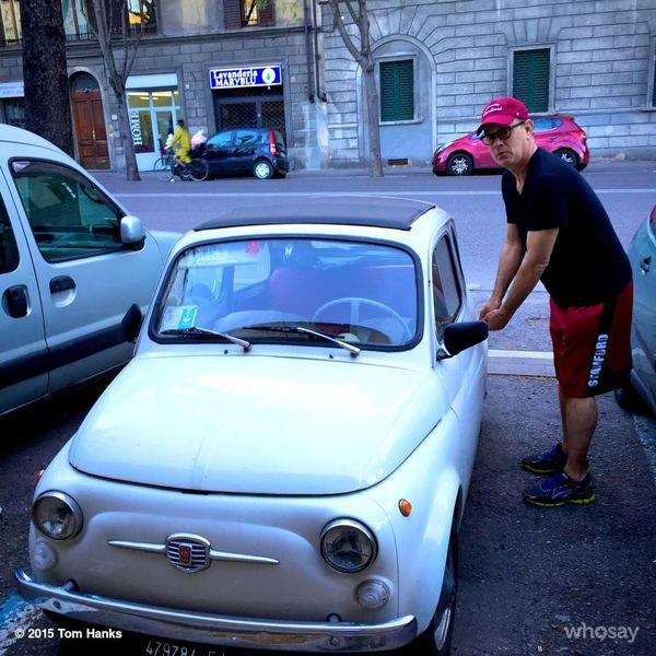 Том Хэнкс и угон машин. Том Хэнкс, Шутка, Юмор, Фотография, Длиннопост