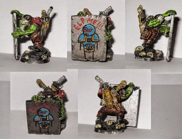 Коммандос орков Warhammer 40k, wh miniatures, орки, маскировка, старое, wh humor