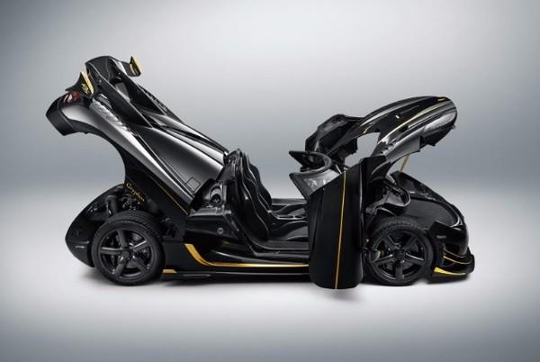 Koenigsegg представил гиперкар из карбона и сусального золота Авто, Суперкар, Автосалон
