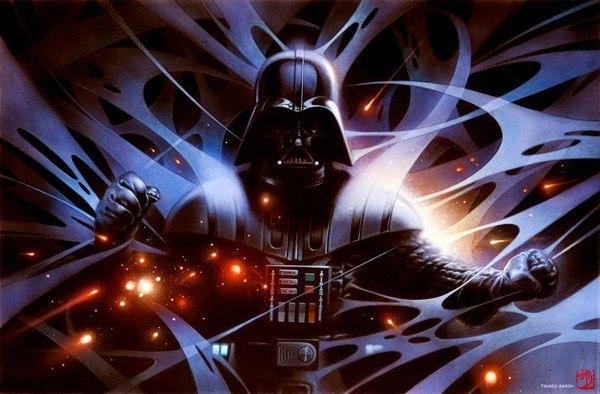 Почувствуй Силу! Star wars, Картина, Длиннопост