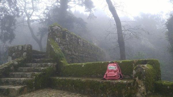 Про рюкзак Португалия, Рюкзак, Мыс Рока, Крепость, Туман, Высота, Порту, Длиннопост