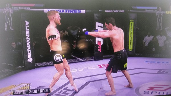 UFC Dance UFC, Playstation 4, Баг