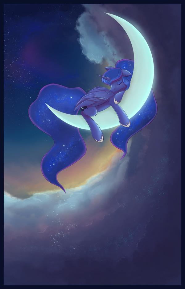 Sleeping Beauty My little pony, Princess luna