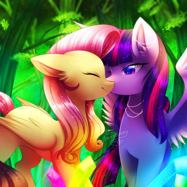 FlutterLight My little pony, Fluttershy, Twilight Sparkle, Шиппинг, Mlp lesbian