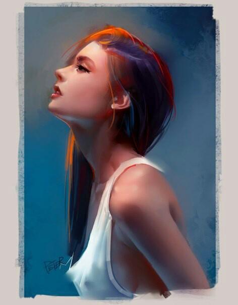 Брюнетки ART Арт, Брюнетка, Не мое, Длинные волосы, Красота, Длиннопост