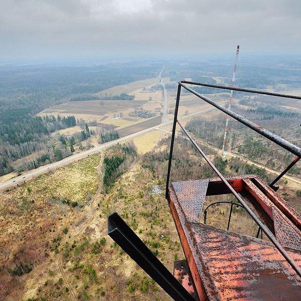 Вышка, 220 метров