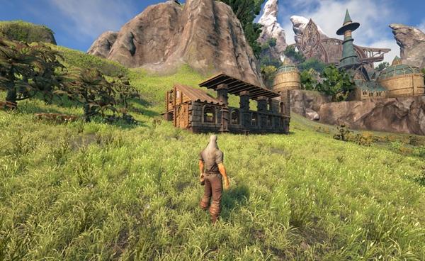 Первые впечатления от игры Dark and Light игры, MMORPG, PRG, Dragons, Sandbox, песочница, длиннопост