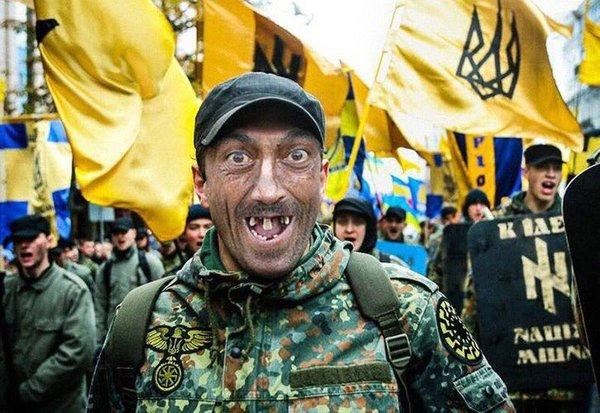Воен света с трезубцем во всей красе, йопт... стоматология, зубов, нет, украина, юмор, политика, фейк, Photoshop