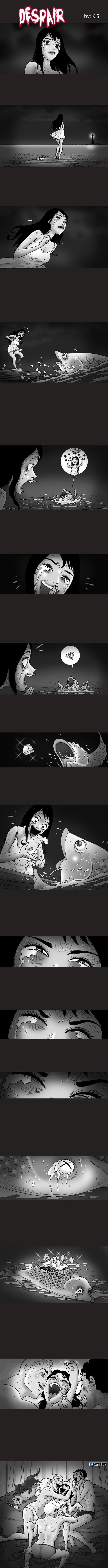 Отчаяние Silent horror, Комиксы, Длиннопост