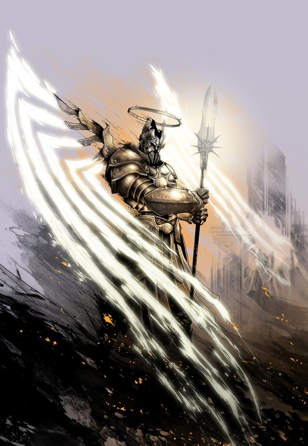 Подборка артов #10 Игры, Diablo III, Арт, Длиннопост