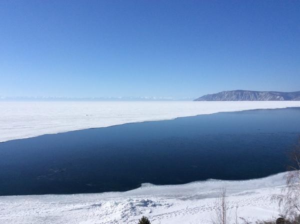 Зимнего Байкала пост Байкал, Лед, Зима, Красота, Ангара, Листвянка, Длиннопост