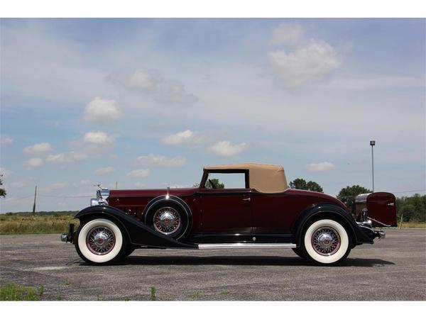 1933 Packard Super Eight Авто, Ретроавтомобиль, Packard, Super Eight, Бодрый старичек, Длиннопост