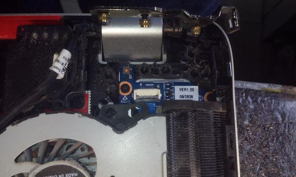 """Ноутбук HP ENVY G7 17'. К вопросу """"а как держит термопласт сложные петли"""". Hewlett Packard, Петля, Ремонт техники, Ноутбук, Длиннопост"""