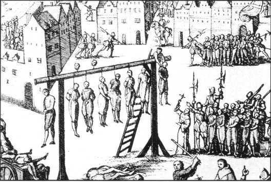 Задача по патанатомии. повешение, казнь, крипота, средневековье