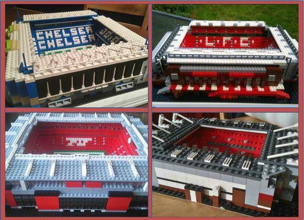 Стадионы из Лего