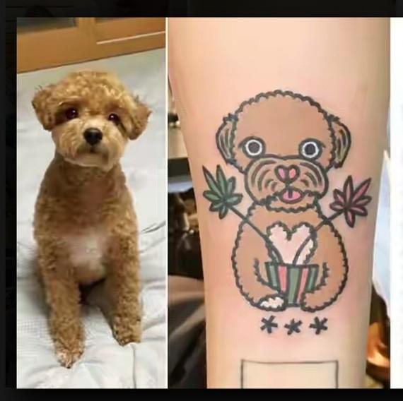 Татуировки животных на руке