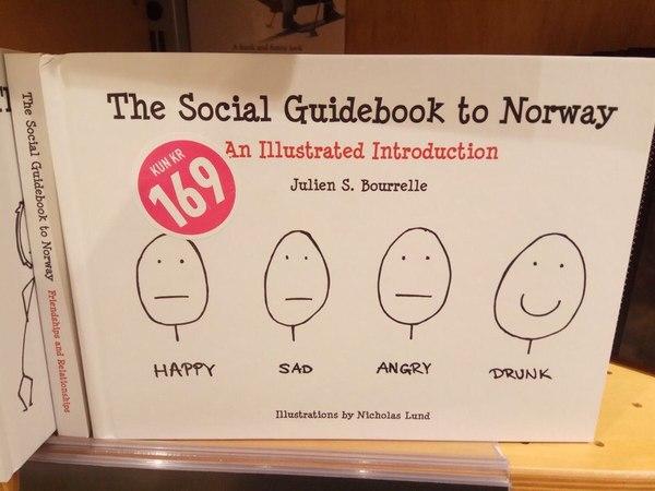 Социальный путеводитель по Норвегии Норвегия, Социология, Лицо, Эмоции, Алкоголик