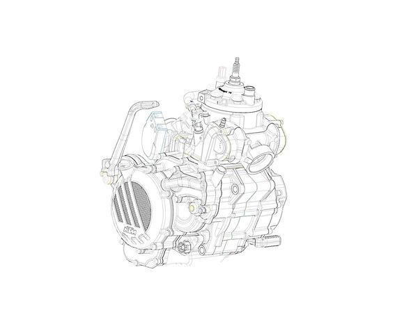 Компания KTM разработала инжектор для 2-тактных моторов Мото, 2Т, 4Т, Bikepost, Ktm, Новости, Инжектор, Карбюратор, Гифка, Длиннопост